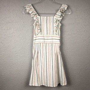 Billabong X Sincerely Jules Striped Dress Size S